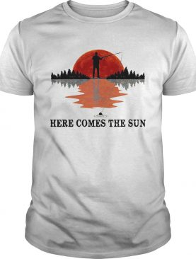 Go Fishing Here Come The Sun shirt