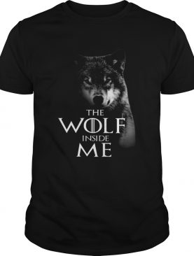 The Wolf Inside Me shirt