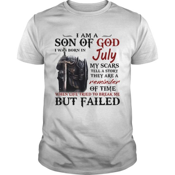 Emplar Knight I Am Son Of God I Was Born In July My Scars Tell A Story They Are A Reminder But Fail