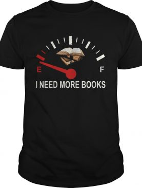 I Need More Books Needle shirt
