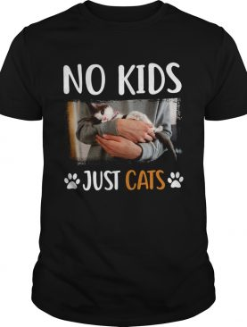 No Kids Just Cats shirt