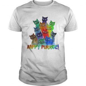 Cats Happy Purride shirt