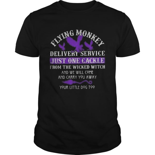 Flying monkey delivery service just one candle for the wicked witch and we will come and carry you