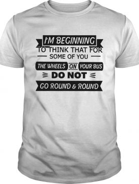 Go Round And Round shirt