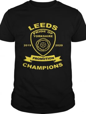 Leeds pride of yorkshire 20192020 promotion champions shirt