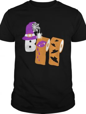 Funny Boo Witch Toilet Halloween shirt