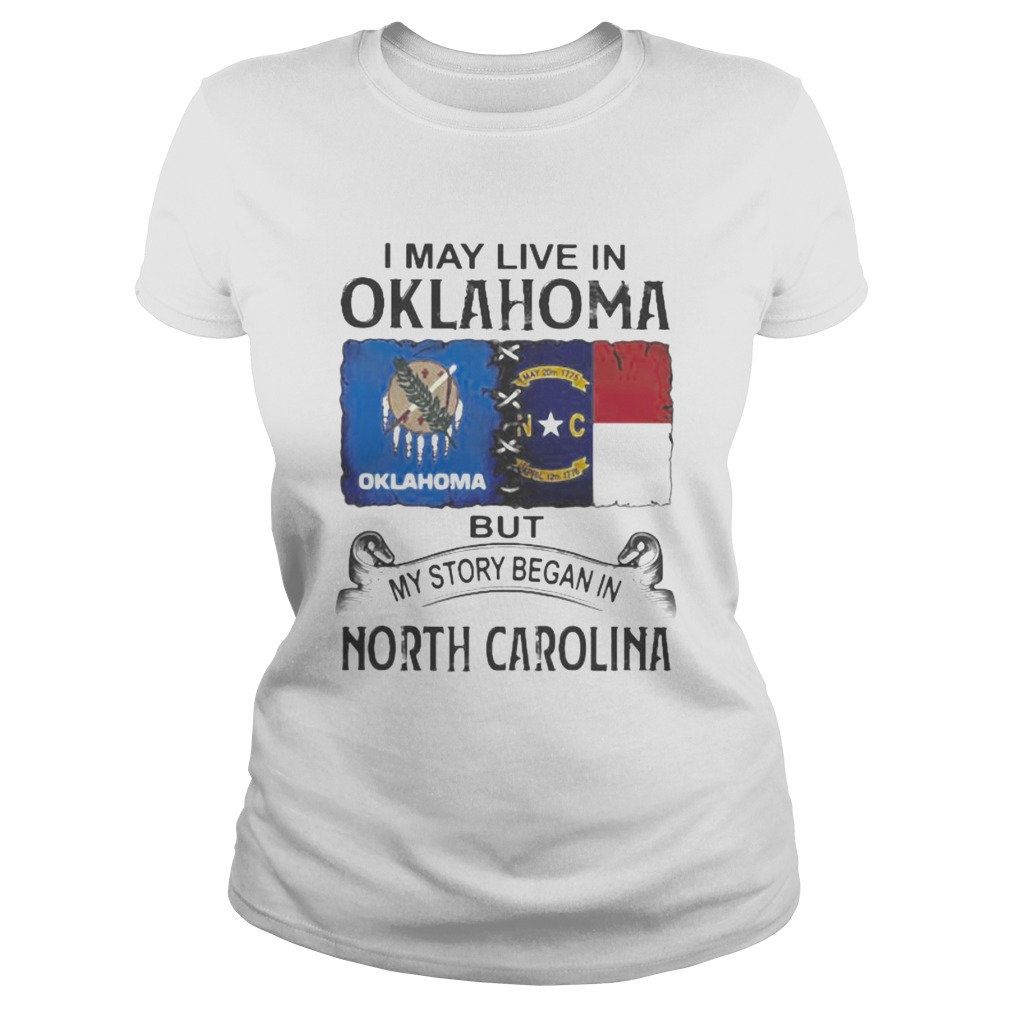 I may live in oklahoma but my story began in north carolina  Classic Ladies