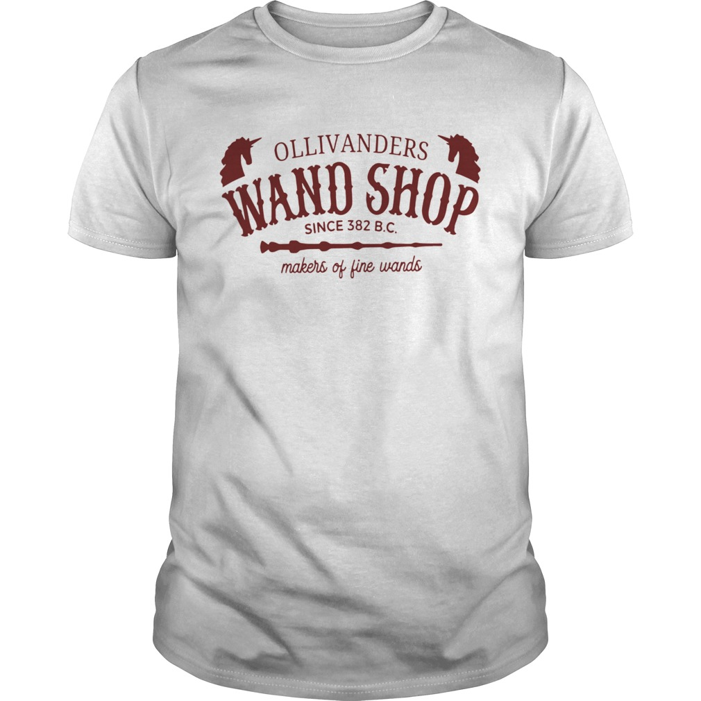 Ollivanders Wand Shop Sign 382 Bc Makers Of Fine Wands  Unisex