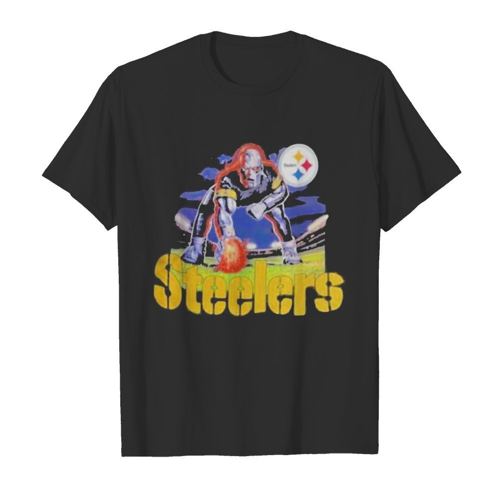 Skull pittsburgh steelers player  Classic Men's T-shirt