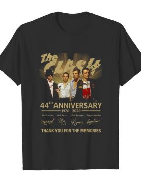 The clash 44th anniversary 1976 2020 thank you for the memories signatures shirt
