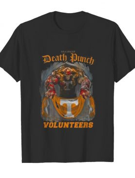 Thor five finger death punch volunteers tennessee shirt