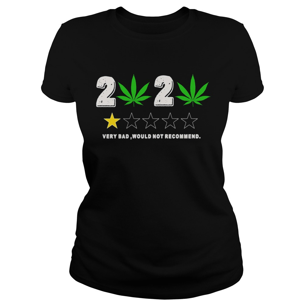 Weed 2020 Very Bad Would Not Recommend  Classic Ladies