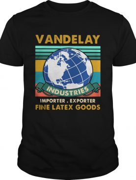 vandelay industries importer exporter fine latex goods vintage retro shirt