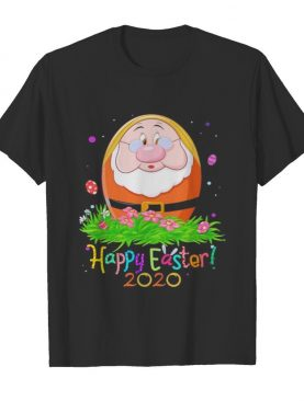 Dopey cry happy easter 2020 flowers shirt