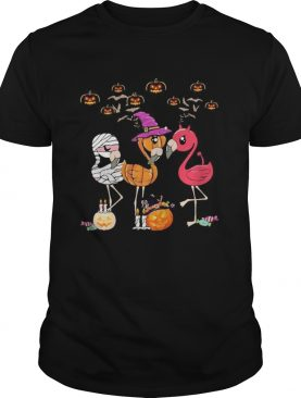 Flamingo Halloween shirt