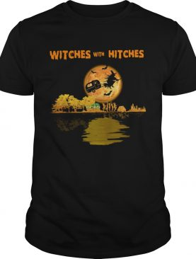 Pretty Camping Witches With Hitches Halloween shirt