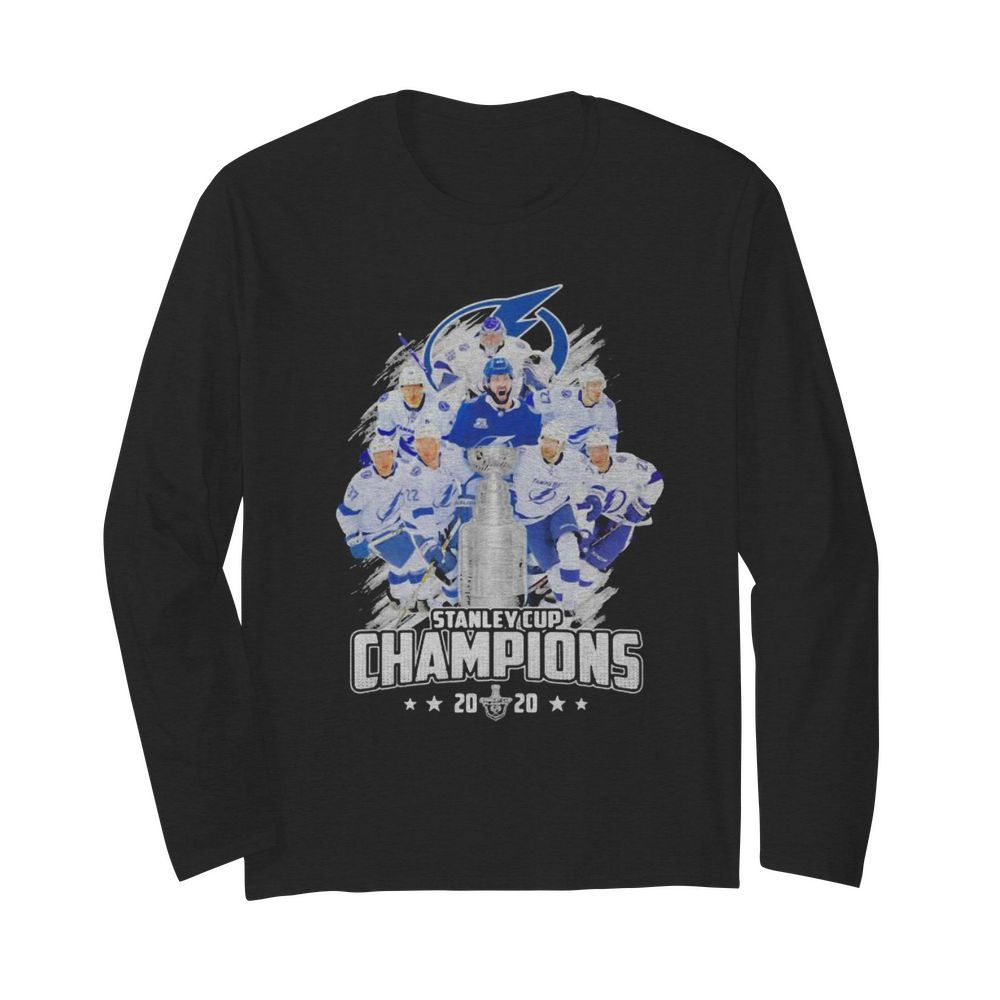 Tampa bay lightning stanley cup champions 2020  Long Sleeved T-shirt