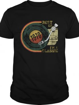 Vintage Best Of 1970 Im Classic Retro shirt