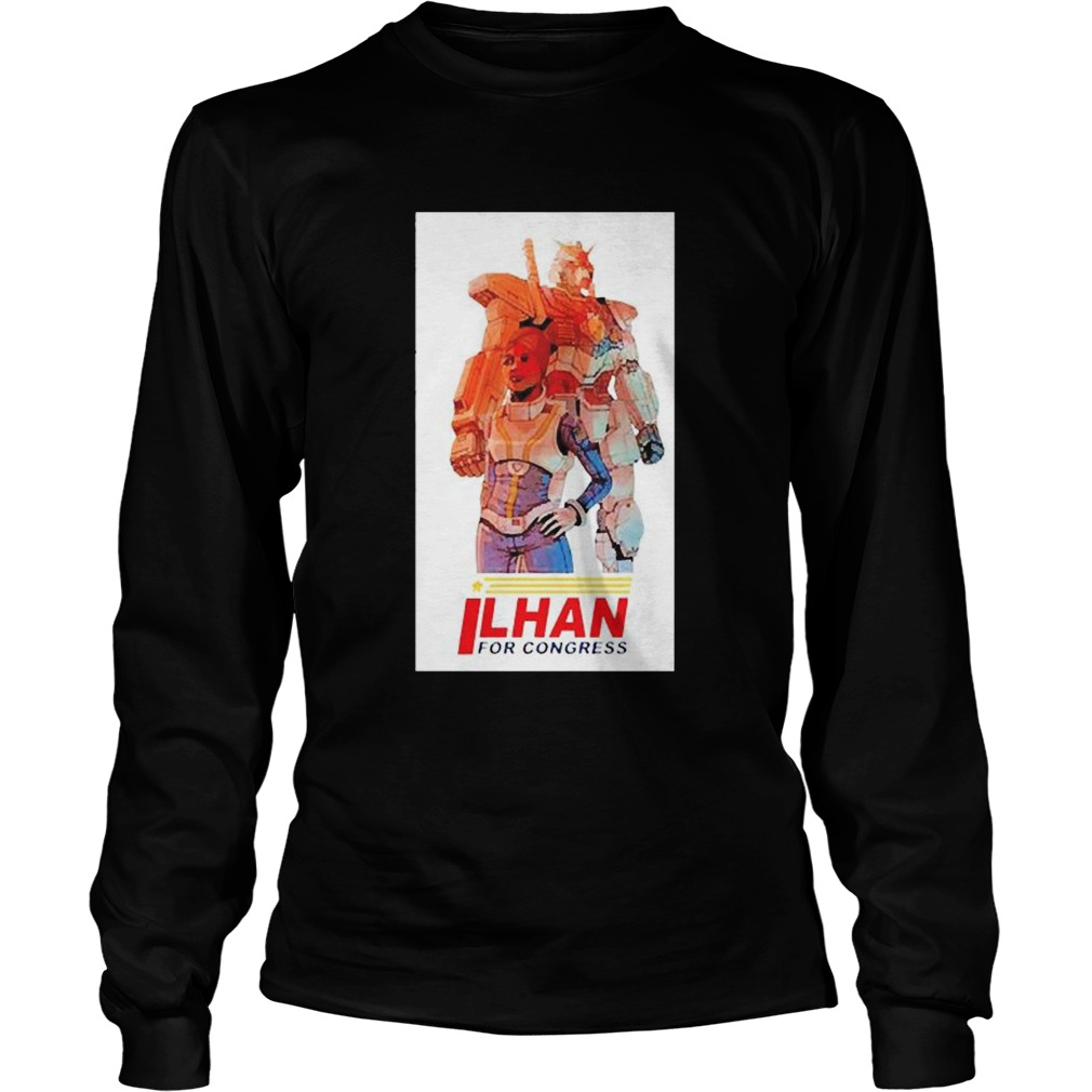 Ilhan Omar for Congress  Long Sleeve