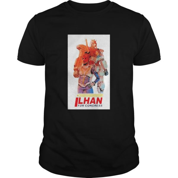 Ilhan Omar for Congress shirt