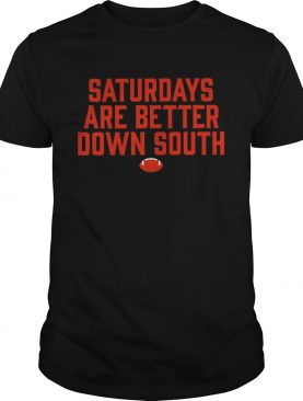 Saturdays Are Better Down South Blue shirt