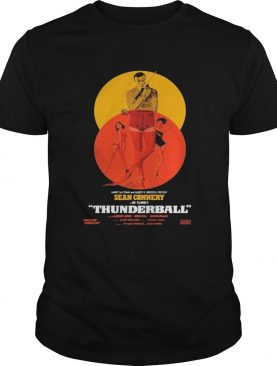 Thunderball James Bond Sean Connery Dr No Danish shirt