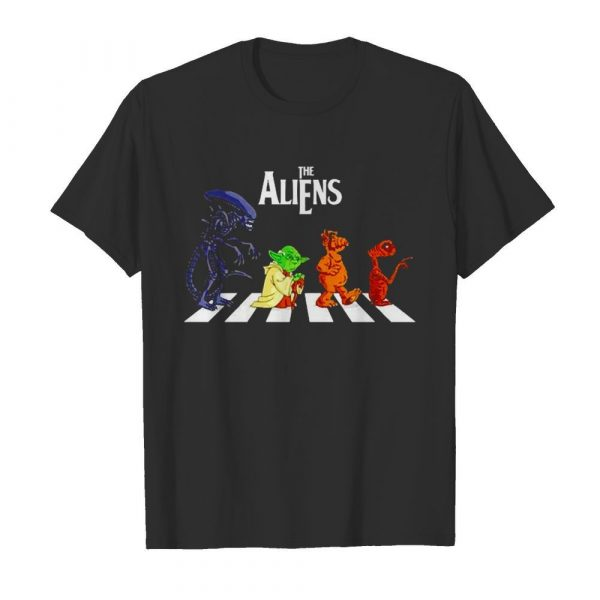 Abbey Road The Aliens Baby Yoda shirt