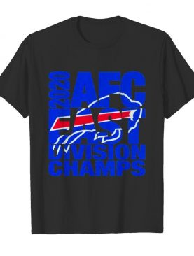 Buffalo bills afc east division champs 2020 shirt