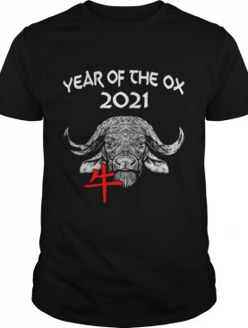 Cow Happy Chinese New Year 2021 Year Of The Ox shirt