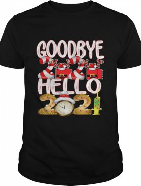 Goodbye 2020 Hello 2021 Happy New Year 2021 Toilet Paper Vaccine shirt