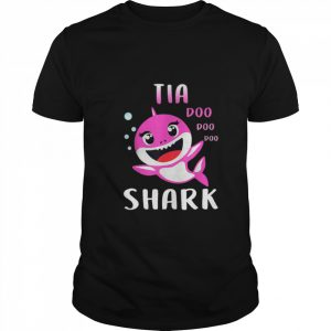 Tia Shark Doo Doo Christmas Mothers Day Gifts shirt